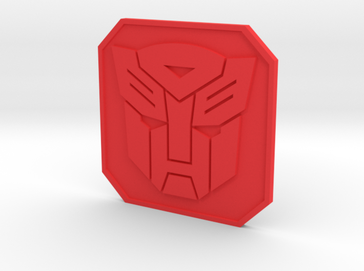 autobot badge 3d printed