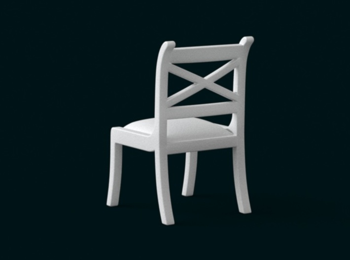 1:39 Scale Model - Chair 02 3d printed