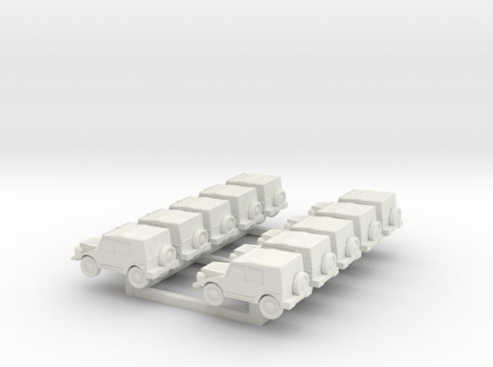 N Scale Munga X10 3d printed
