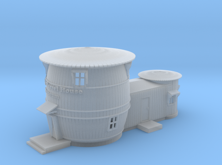 Pickle Barrel House Museum 3d printed Pickle Barrel House