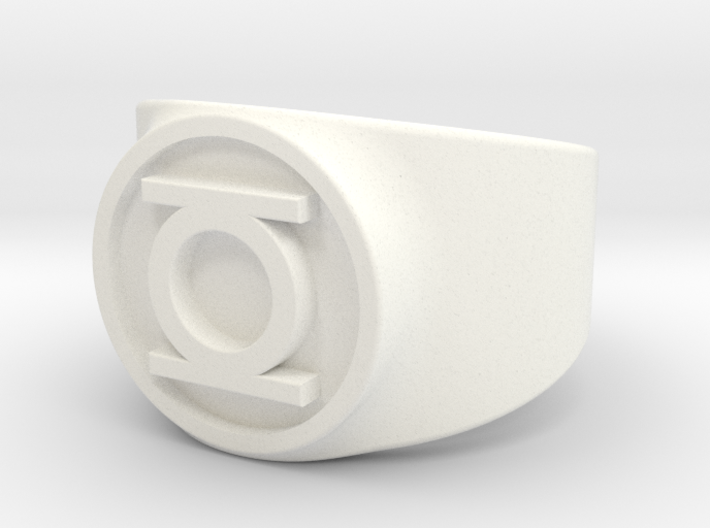 Original Hal GL Ring Sz 9 3d printed