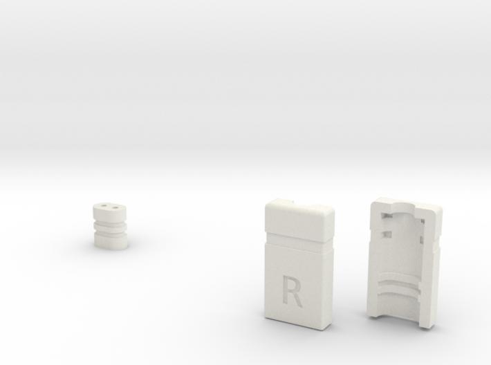 UE Earbud Connector R Final B 3d printed