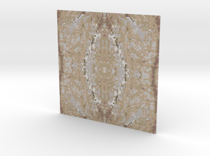 Mosaic Rainforest Gold 3d printed