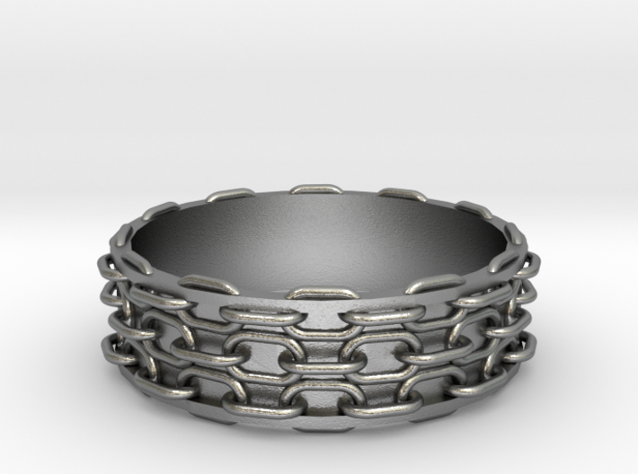Chain Bangle 3d printed