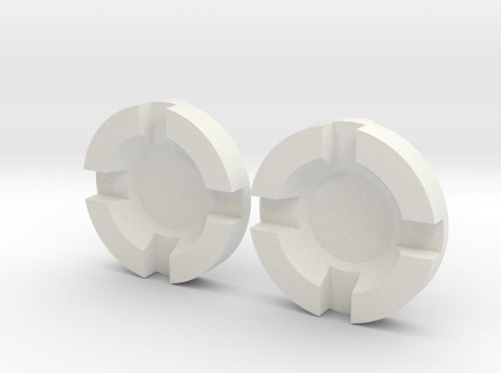 Thruster Center Insert Pairs 3d printed