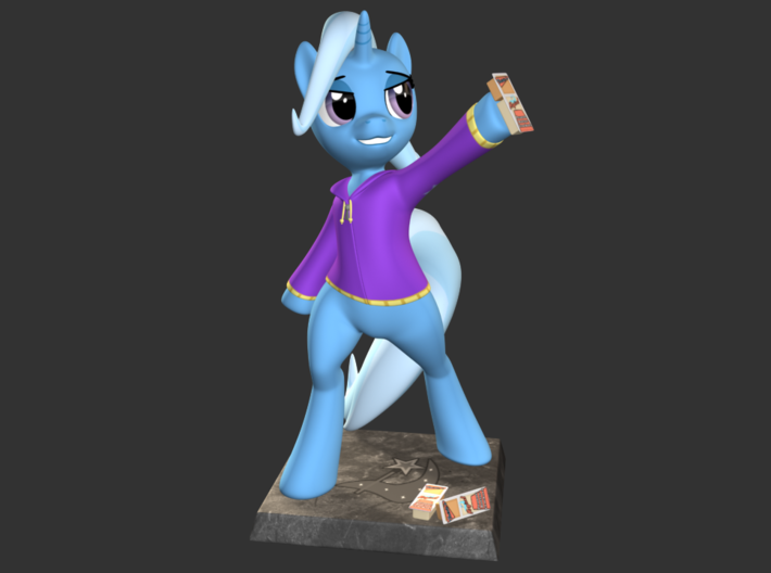 My Little Pony - The Great&Powerful Trixie 10cm 3d printed