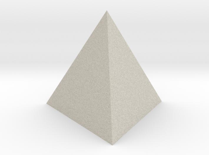 Tetrahedron (small) 3d printed