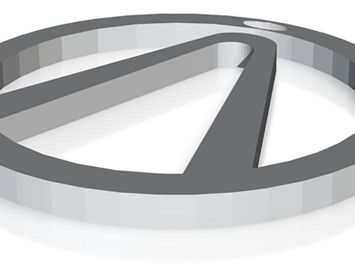 borderlands logo 3d printed