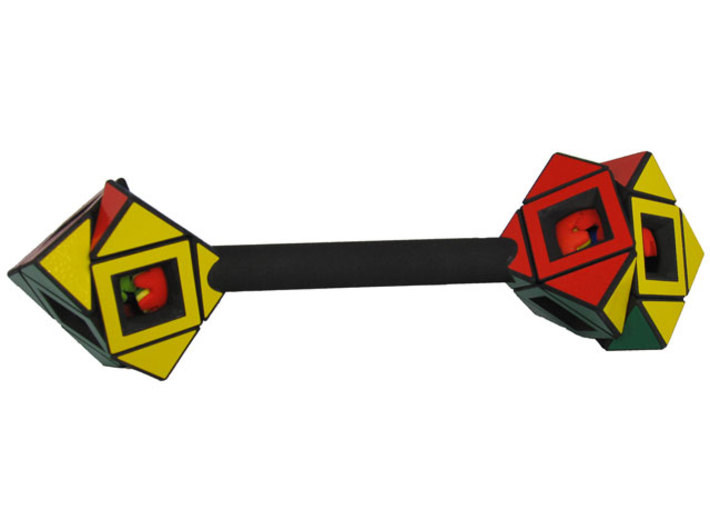 Dumbbell Skewb READ INSTRUCTIONS 3d printed Central turn