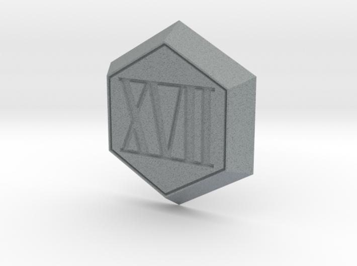 17th Platoon Badge (Chrome Shelled Regios) 3d printed