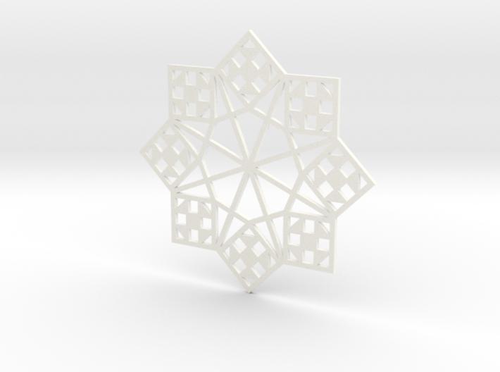 Shoo Fly Ornament - Flat 3d printed