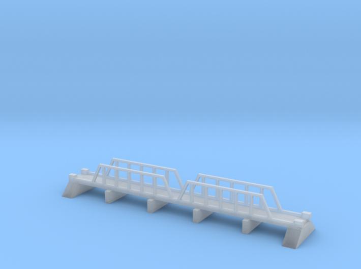 1/600 Steel Girder Road Bridge 3d printed