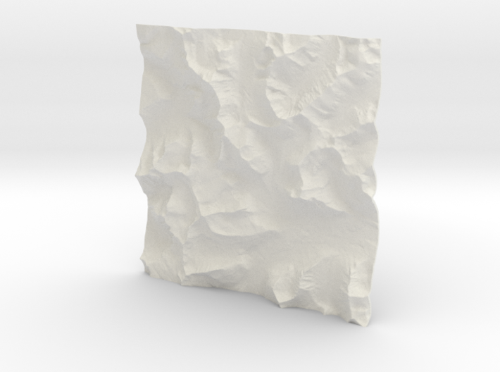3'' Glacier National Park, Montana, USA 3d printed