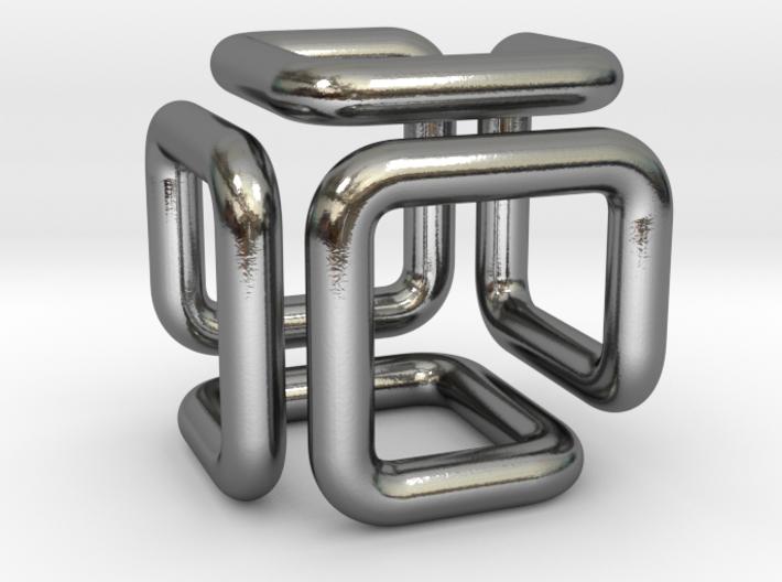 Pendant Of Cubical Wonder 3d printed