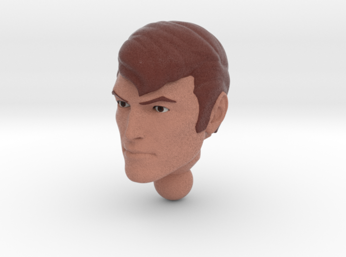 SPIKE Homage Exosuit Head For TF FOC JAZZ 3d printed