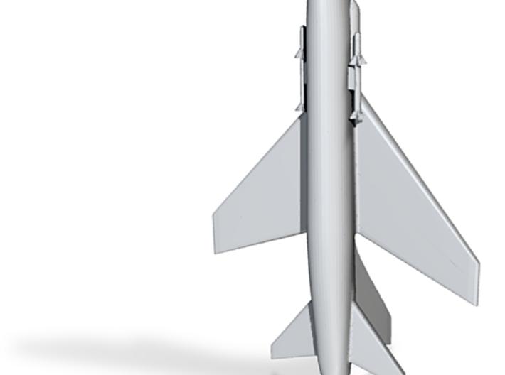 1/285 Scale (6mm) F-8 Crusader 3d printed