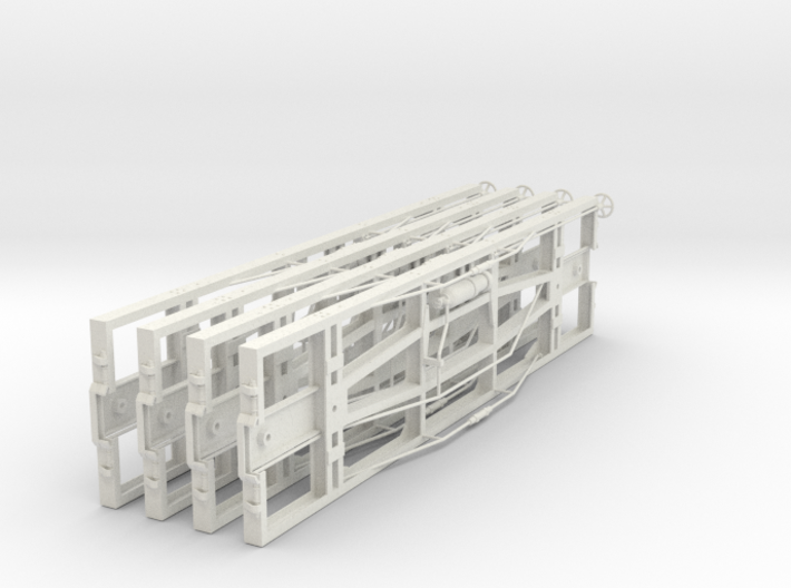 VR narrow gauge 19' underframe 3d printed