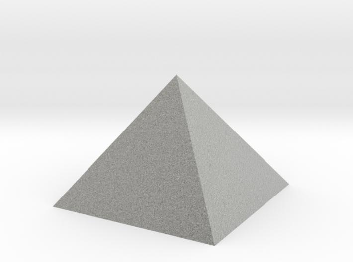 Pyramid Hollow 74mm 95cm3 - Square Johnson Closed 3d printed