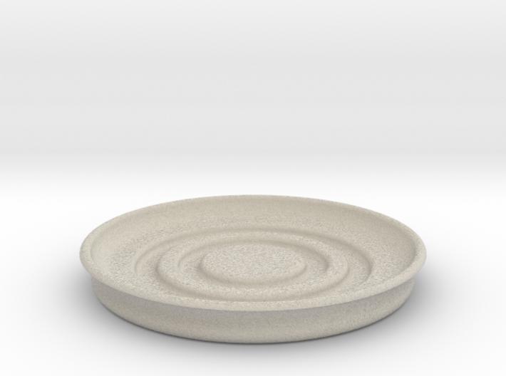 Circular Coaster 3d printed