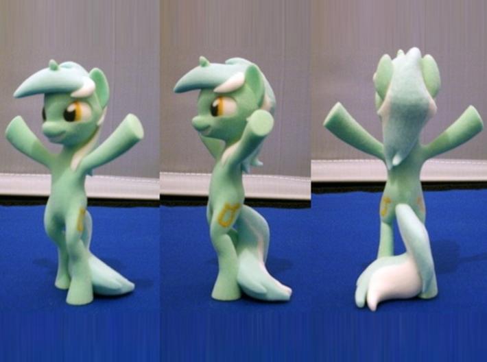 My Little Pony - Lyra Heartstrings (≈90mm tall) 3d printed