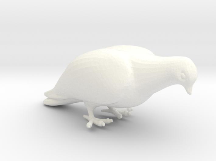 Bird No. 1 (Dove) 3d printed