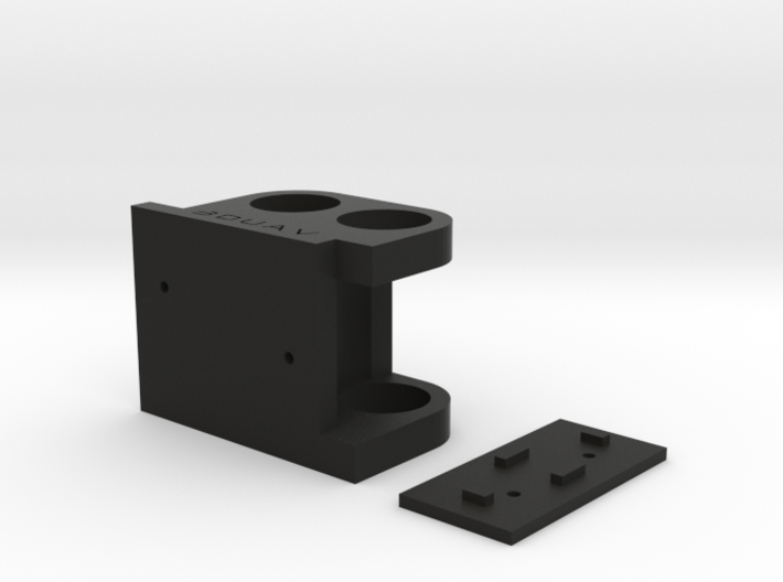 DJI F450 Low Profile Gimbal Mount 3d printed