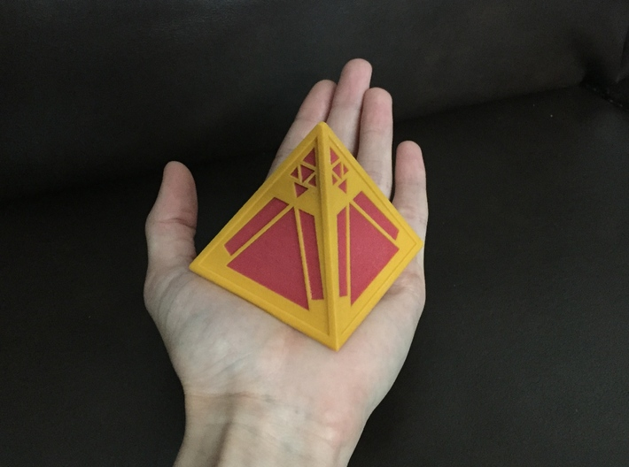 Sith Holocron (full color) 3d printed