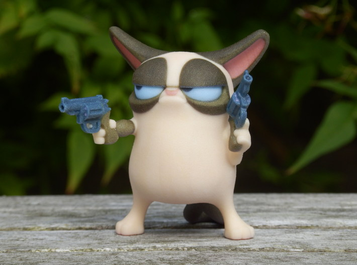Don't Get Grumpy... Get Even! 3d printed