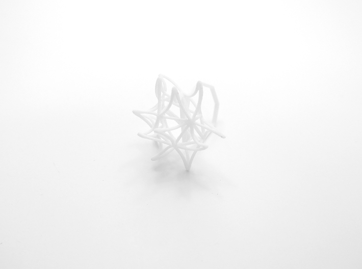 Aster Ring (Small) Size 6 3d printed