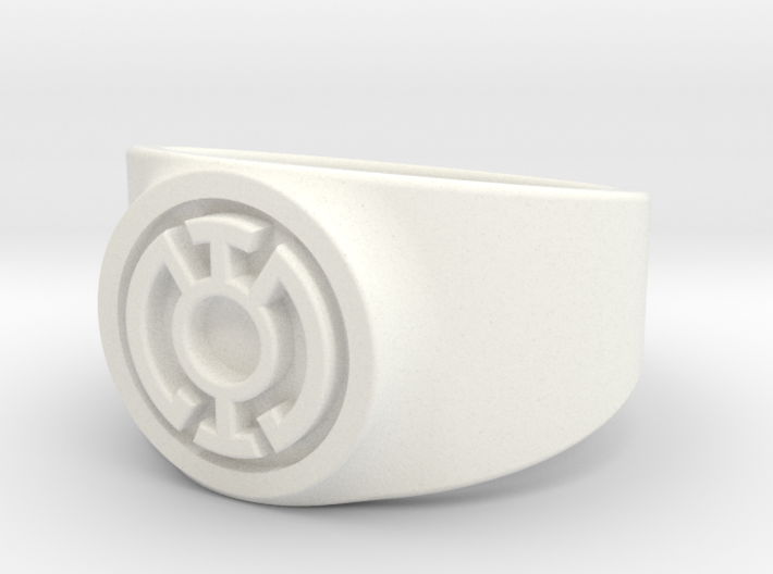 Blue Hope GL Ring Sz 14 3d printed