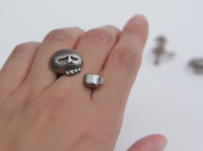 Coffee Driner Ring - size 8 3d printed
