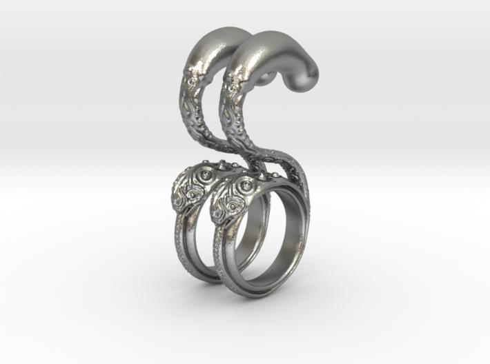 Dragon Loop Hanging Design (select a size) 3d printed
