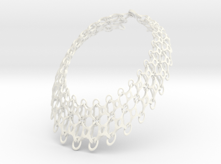 Spider Glass Necklace 3d printed