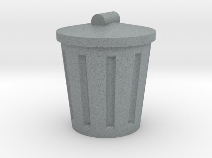 Trash Can, Miniature 3d printed