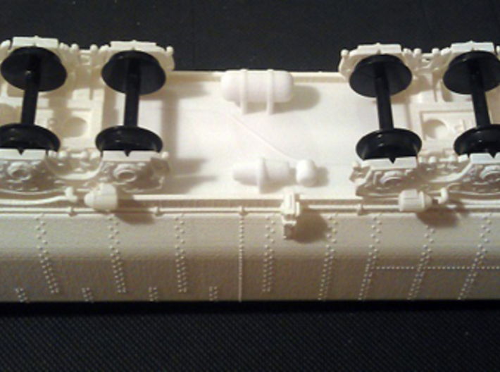 UP Water Tender HO Scale 1:87 Jim Adams  3d printed Shell Chassis & Trucks