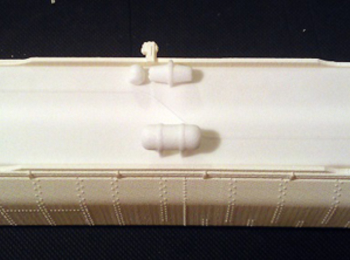 UP Water Tenders HO Scale 1:87 Jim & Joe 3d printed Shell And Chassis