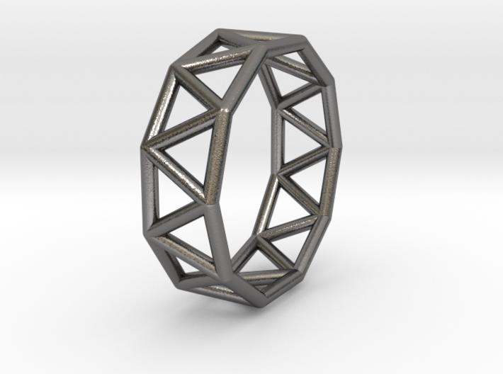0340 Decagonal Antiprism Е (a=1сm) #001 3d printed