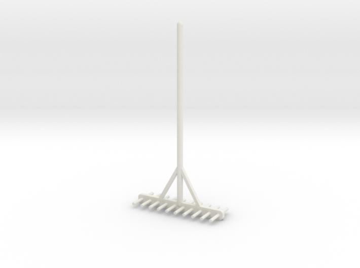 Miniature rake 1/12 3d printed