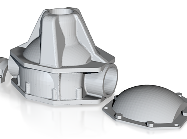 Achsgetriebegehäuse für SDI Internals 3d printed