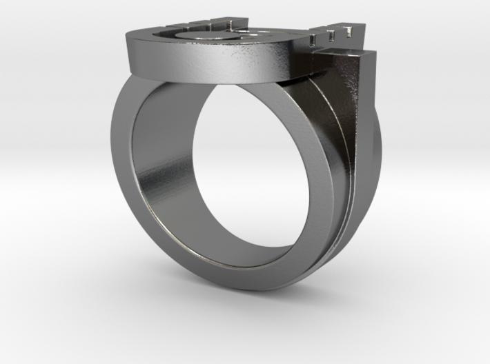 Kharma Ring - Size 9 (18.99 mm) 3d printed