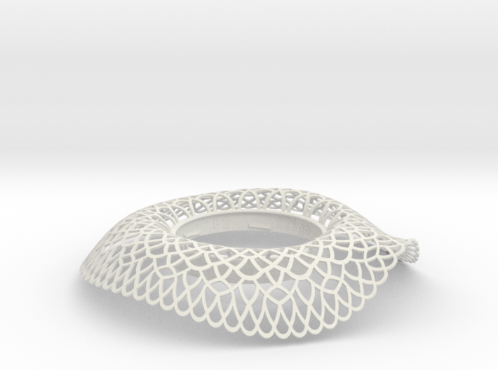 Collar Vase Dutch Lace for jar size:82 (6 leads) 3d printed