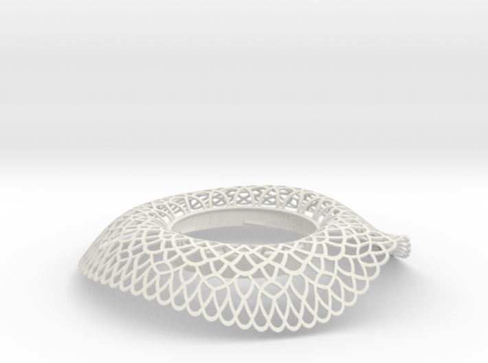 Collar Vase Dutch Lace for jar size:89 (6 leads) 3d printed