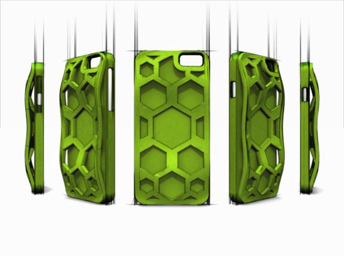 SWiPhone6 - Hive Case - Maciek Niedorezo 3d printed Multiple angles