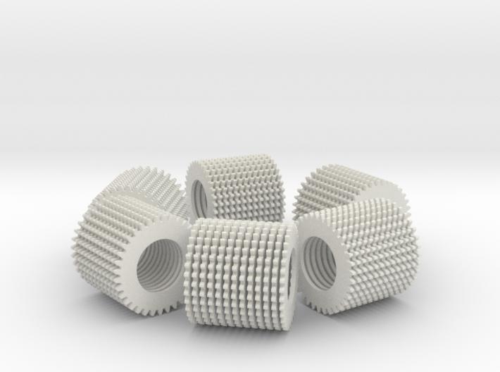 loop test part (78 loose parts) 3d printed