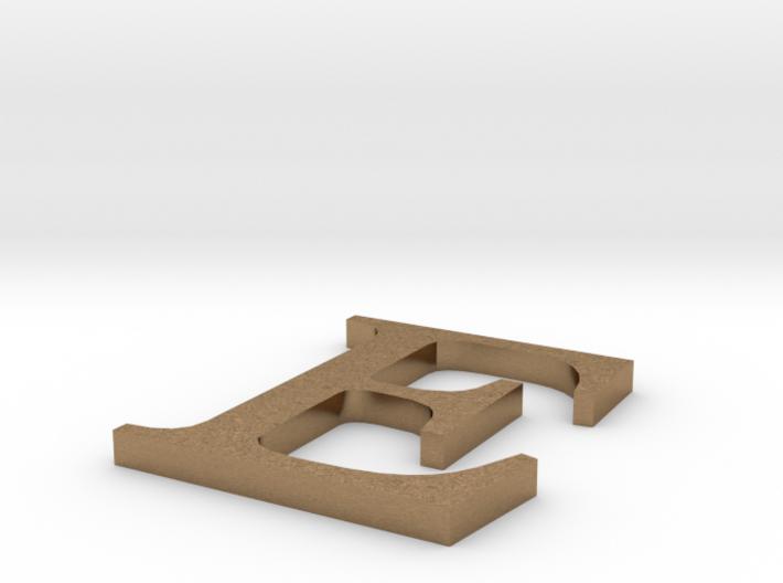 Letter-E 3d printed