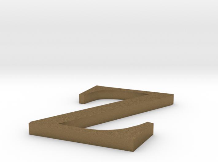 Letter-Z 3d printed