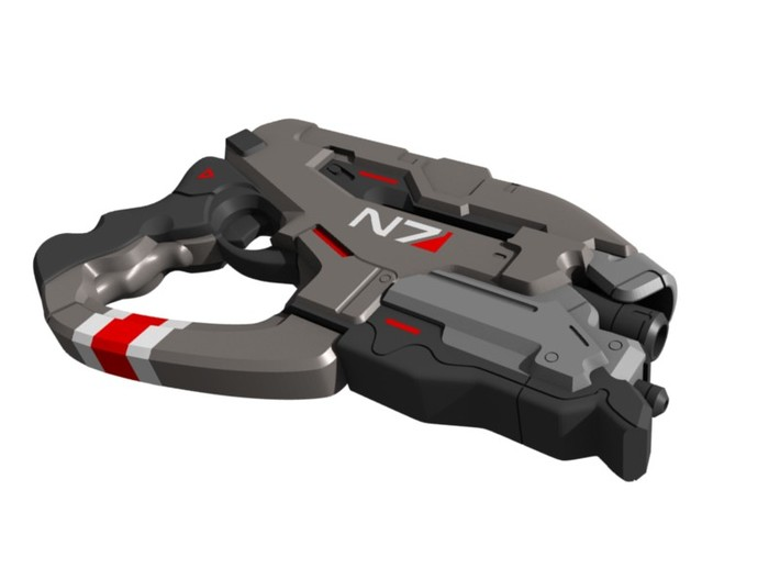 Mass Effect - 1:8 scale - N7 Eagle 3d printed
