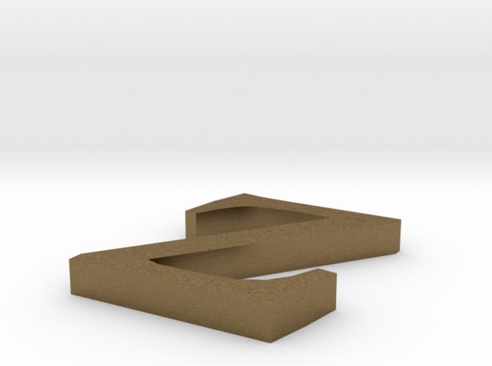Letter- z 3d printed