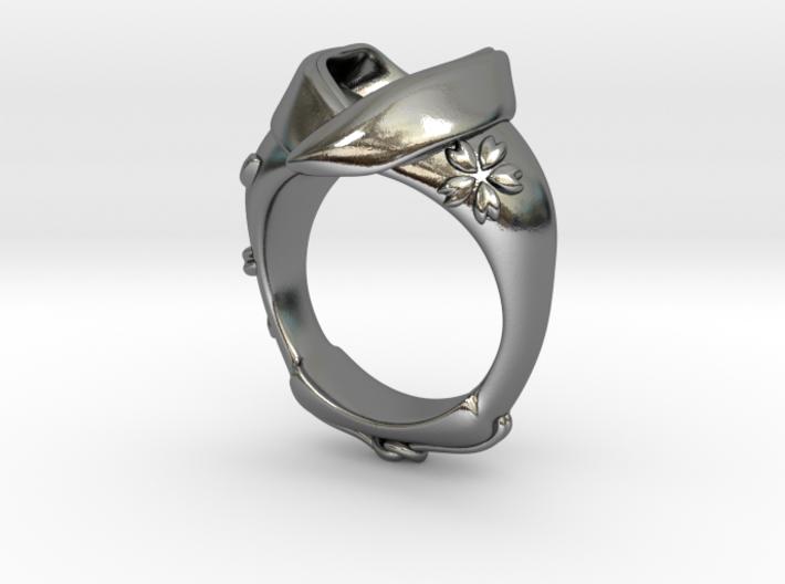 KIMONO RING Frame 3d printed