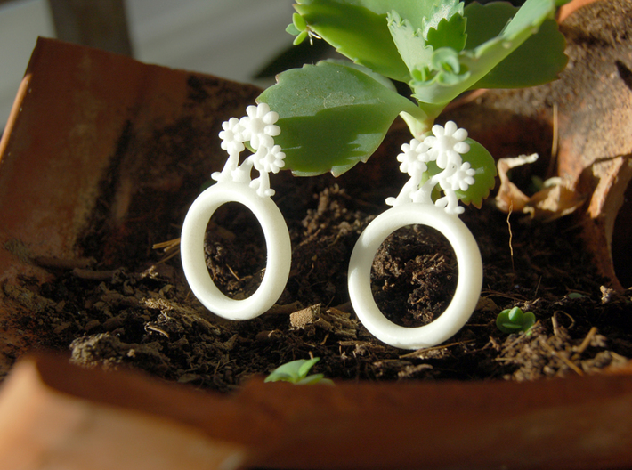 Daisy Ring D20 3d printed